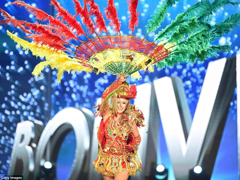 miss universe 2017 Bolivia