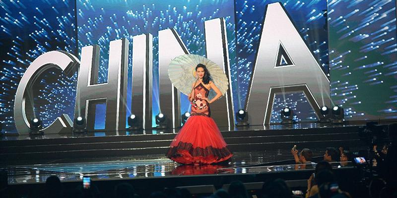 miss universe 2017 China