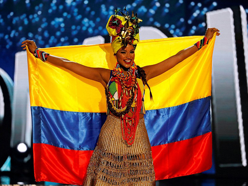 miss universe 2017 Colombia