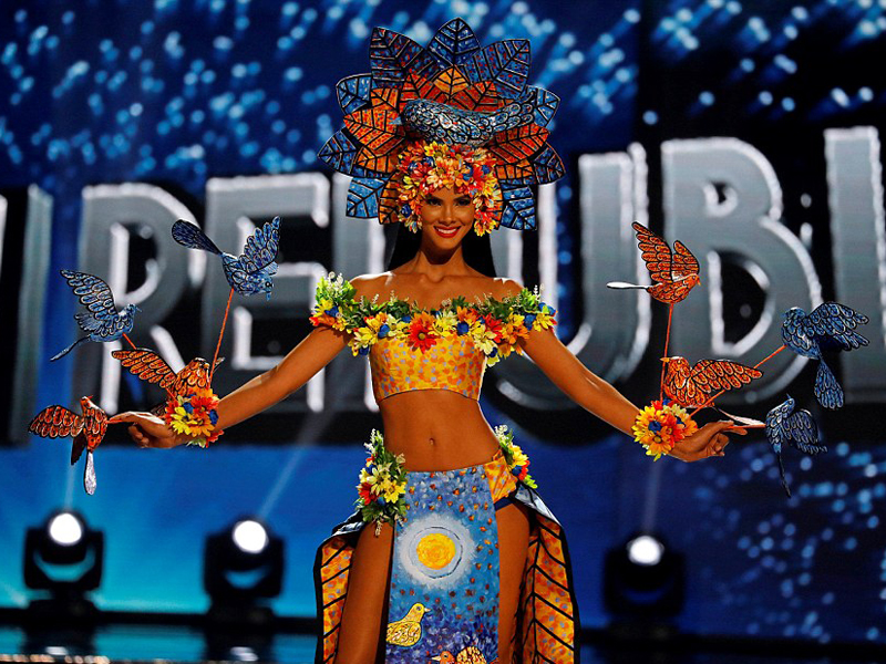 miss universe 2017 Dominican Republic's Sal Garcia