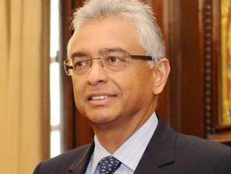 mauritius prime minister Pravindar Jagannath