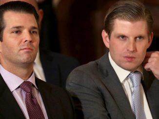 Donald trump junior and erik trump