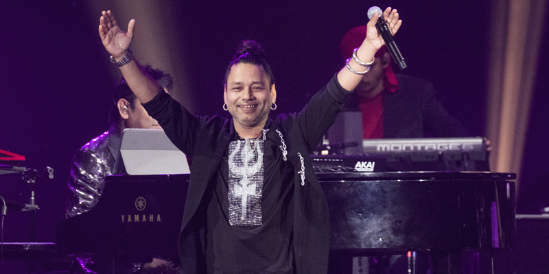 Kailash Kher performs at the 2017 International Indian Film Academy Festival's IIFA Rocks at MetLife Stadium on Saturday, July 15, 2017, in East Rutherford, N.J. (Photo by Charles Sykes/Invision/AP)