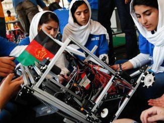 afghanistan robotics winner