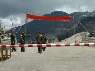 india china border tension