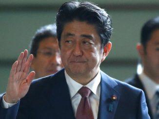 Japan Prime Minister Sinjo Abe