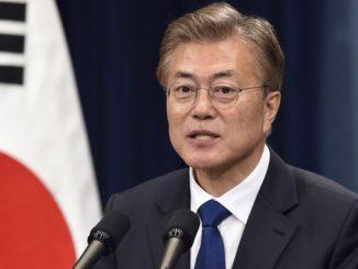 south korea president moon