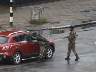 Zimbabwe Turmoil Images