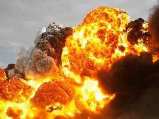 bomb explode