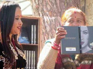 nathiya book release