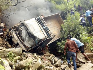 rarkari gadi accident