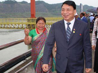 Nakishor pun china visit