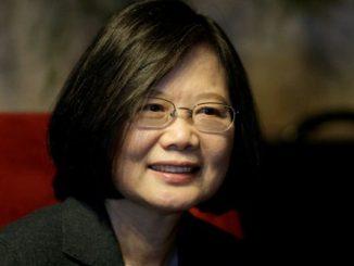 Taiwan's President Tsai Ing-wen