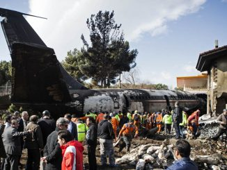 IRAN-KARAJ-PLANE CRASH
