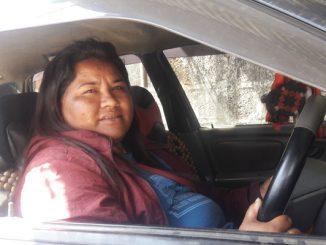 first Pokhara women taxi driver bishnu kunwar