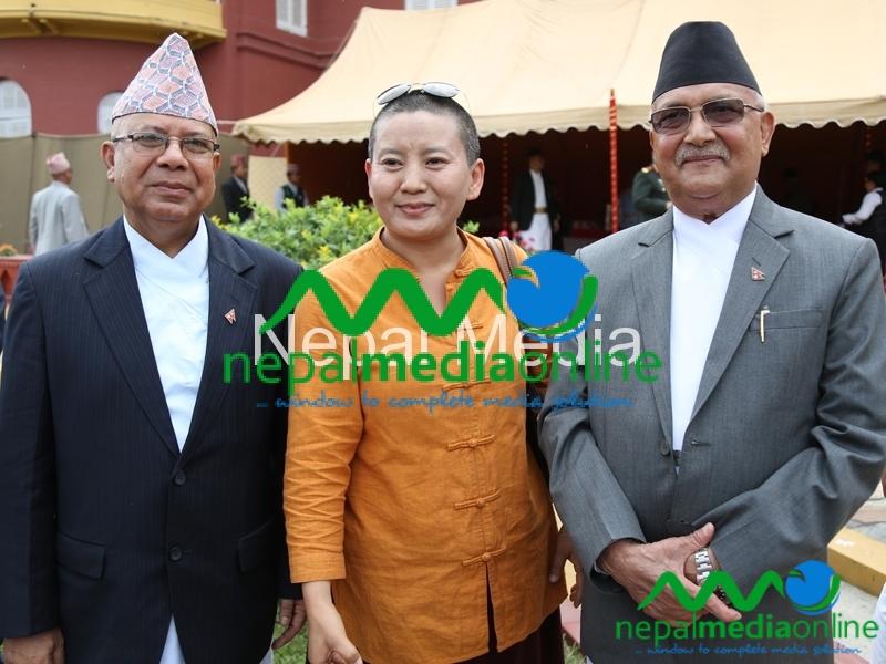 MK Nepal AC Dolm & KP Oli